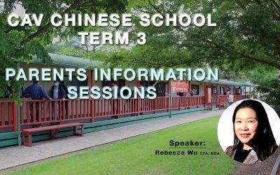 Parents Information Session 31-Jul, 1-Aug